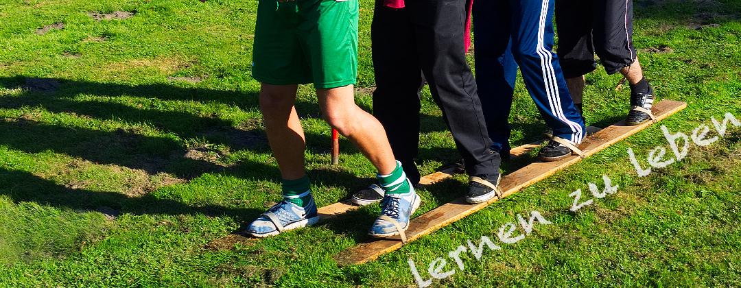 Lernen zu leben - Holzski für 4 Personen